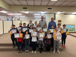 Kiwanis Honors 2nd Quarter BUG Winners