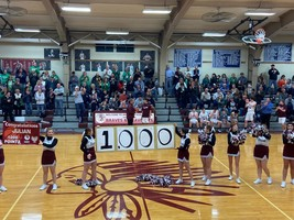 Samuels Scores 1,000th Point