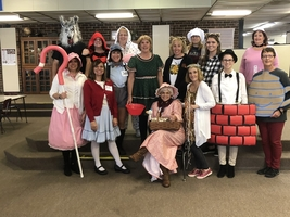 Annawan Grade School Halloween Festivities
