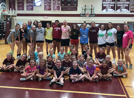Booster's Volleyball and Football Camps – Big Success!!