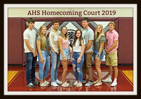 Homecoming Court - 2019