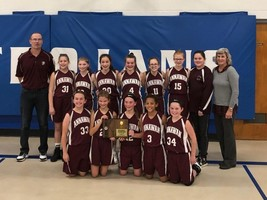 6th and 7th Grade Basketball Regional Champs