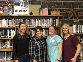 School Librarian Trains Parent Volunteers