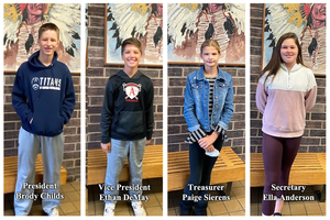 Congratulations to the 2020-21 JH Student Council Officers